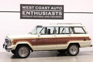 1986 Jeep Wagoneer WagonMaster Photo