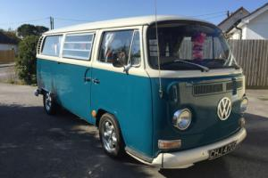 VW T2 Early Bay Camper Van