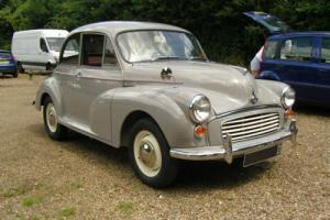 MORRIS MINOR 1000 GREY Very Good Condition