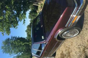 1988 Chrysler New Yorker Mark Cross Edition