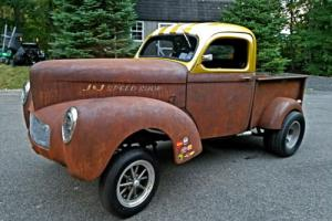 1941 Willys Straight Axle Gasser pick-up Street Rod!