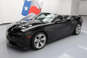 2013 Chevrolet Camaro ZL1 CONVERTIBLE AUTO SUPERCHARGED