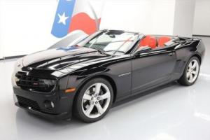 2013 Chevrolet Camaro 2SS CONVERTIBLE HTD LEATHER HUD