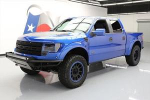 2011 Ford F-150 SVT RAPTOR CREW 4X4 SUNROOF NAV