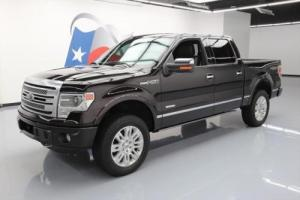 2013 Ford F-150 PLATINUM 4X4 ECOBOOST SUNROOF NAV