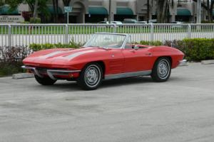 1963 Chevrolet Corvette #S MATCHING 327/300HP 4 SPEED CONVERTIBLE
