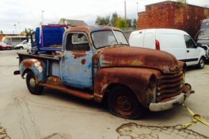 Ropey old Chevy pick up truck 3100 3800 rough as nails