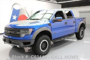 2013 Ford F-150 SVT RAPTOR 6.2L SUPERCREW 4X4 NAV