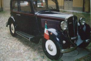 1937 FIAT BALILLA 4 SPEED SALOON, RESTORED, RUNS&DRIVES AS A NEW CAR