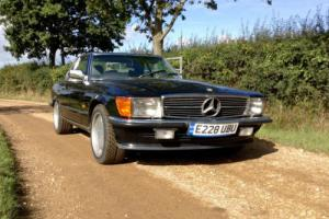 Mercedes 420SL Auto Convertible Black
