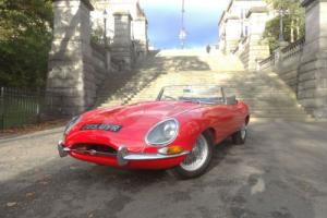 1962 Jaguar 'E' TYPE 3.8 Roadster Manual