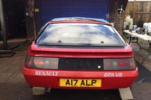 RENAULT GTA V6 NON TURBO. REG VALUED AT £1800. A17 ALP