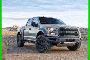 1980 Ford F-150 2017 F-150 Raptor 17 Avalanche Grey Crew Cab