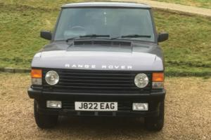 1991 LAND ROVER RANGE ROVER VOGUE SE A GREY