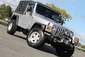 2004 Jeep Wrangler Unlimited 4WD 2dr SUV