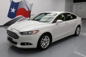 2013 Ford Fusion SE SEDAN ECOBOOST LEATHER REAR CAM