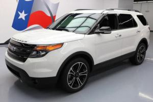 2014 Ford Explorer Sport AWD ECOBOOST LEATHER NAV