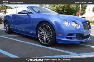 2015 Bentley Continental GT 2dr Convertible