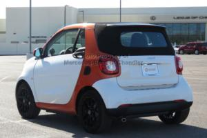 2017 smart fortwo passion cabriolet