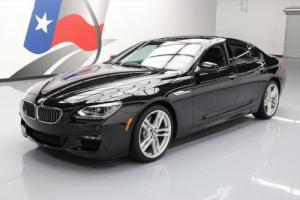 2015 BMW 6-Series 640I GRAN COUPE M-SPORT SUNROOF NAV HUD