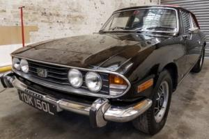TRIUMPH STAG CONVERTIBLE - BLACK - HARD TOP