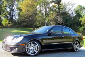 2009 Mercedes-Benz E-Class 4dr Sedan 6.3L AMG RWD