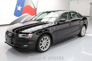 2014 Audi A4 2.0T PREMIUM PLUS AWD S-LINE SUNROOF