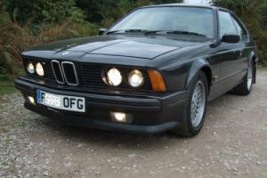 1988 BMW 635 CSI HIGHLINE E24 AUTO *PROFESSIONALLY RESTORED + NEW MOT*