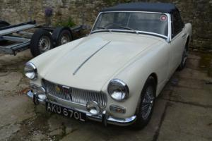 1972 MG MIDGET WHITE