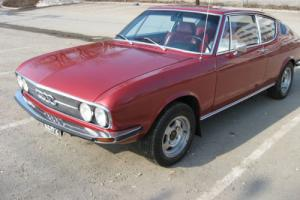Audi 100 Coupe S 1971 Finnish museum register car. Show condition
