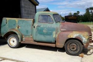 CHEVY 3100 WORKTRUCK STEPSIDE RAT ROD HOT ROD VERY RARE AMERICAN CATERING ?