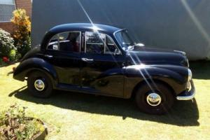 1957 Morris Minor {Black Betty}