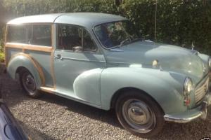 Morris Minor Traveller Original Wood. Servo Brakes (click for pics)