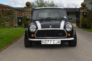 Chassic 1990 ROVER MINI RACG FLAME CHECKMATE BLACK/WHITE