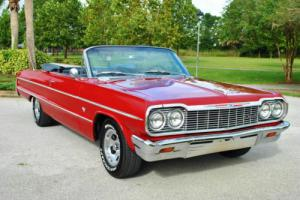 1964 Chevrolet Impala Convertible 4-Speed Looks and Drives Amazing!