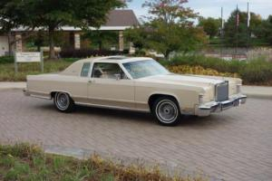 1979 Lincoln Town Car Continental Low Mileage Documented Survivor!