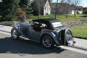 1949 MG T-Series exu