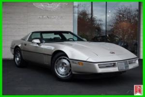 1986 Chevrolet Corvette Z51 Coupe