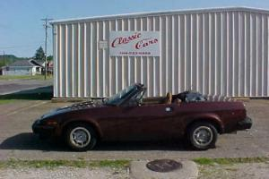 1980 Triumph Other CONVERTIBLE  LOW  MILES