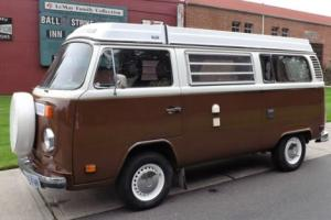 1978 Volkswagen Bus/Vanagon vw bus champagne edition pop-top camper