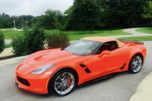 2017 Chevrolet Corvette grand sport Photo