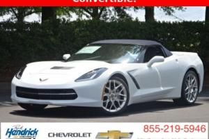 2016 Chevrolet Corvette 2dr Stingray Convertible w/3LT