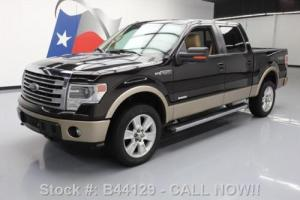 2013 Ford F-150 LARIAT CREW ECOBOOST 4X4 SUNROOF NAV Photo