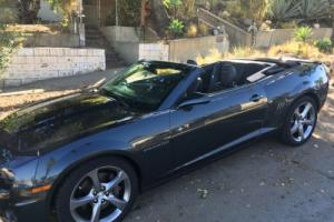 2013 Chevrolet Camaro SS Convertible, RS Package, heads-up display, GPS