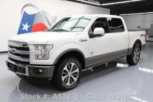 2016 Ford F-150 KING RANCH CREW FX4 4X4 ECOBOOST NAV