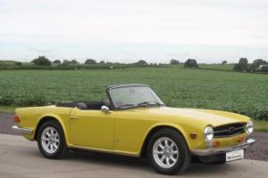 1973 M - Triumph TR6 - Mimosa Yellow - Genuine UK Car for Sale