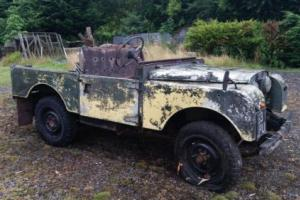 "LANDROVER SERIES 1 ""86"" 1957  VERY VERY RARE ONLY ONE OWNER  MOT & TAX EXEMPT"