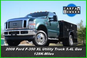 2008 Ford F-350 XL Utility Truck Photo