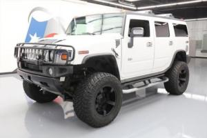 2006 Hummer H2 LUX 4X4 LEATHER SUNROOF LIFT 20'S
