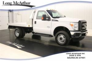 2016 Ford F-350 SUPER DUTY CAB AND CHASSIS FLATBED 4X4  MSRP$55155